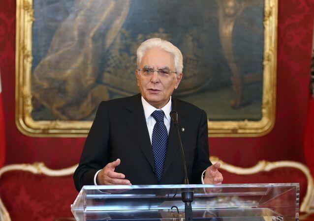イタリアのマッタレッラ大統領