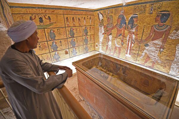 ツタンカーメン王の黄金の石棺 エジプト - Sputnik 日本