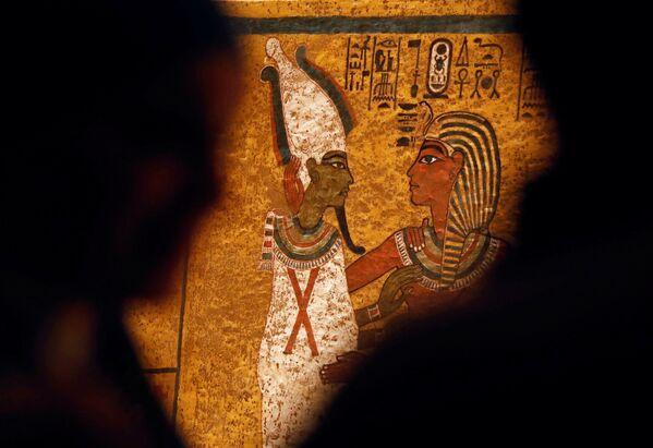ファラオの墓の壁画 - Sputnik 日本