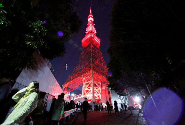 東京タワーのライトアップ 東京 - Sputnik 日本