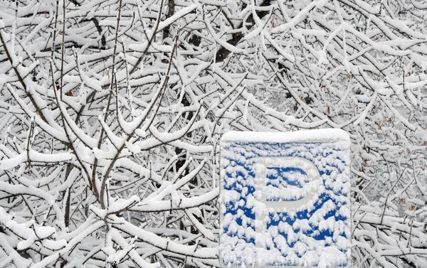 雪に覆われたモスクワ - Sputnik 日本