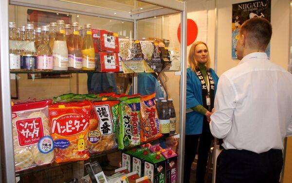 ショーケースに並ぶ新潟県産品 - Sputnik 日本