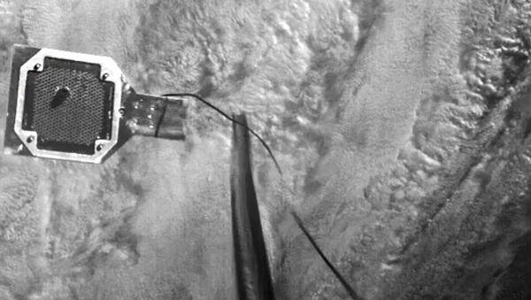 英国の衛星、軌道上で宇宙ごみのイミテーションを「銛」を使って捕獲 - Sputnik 日本