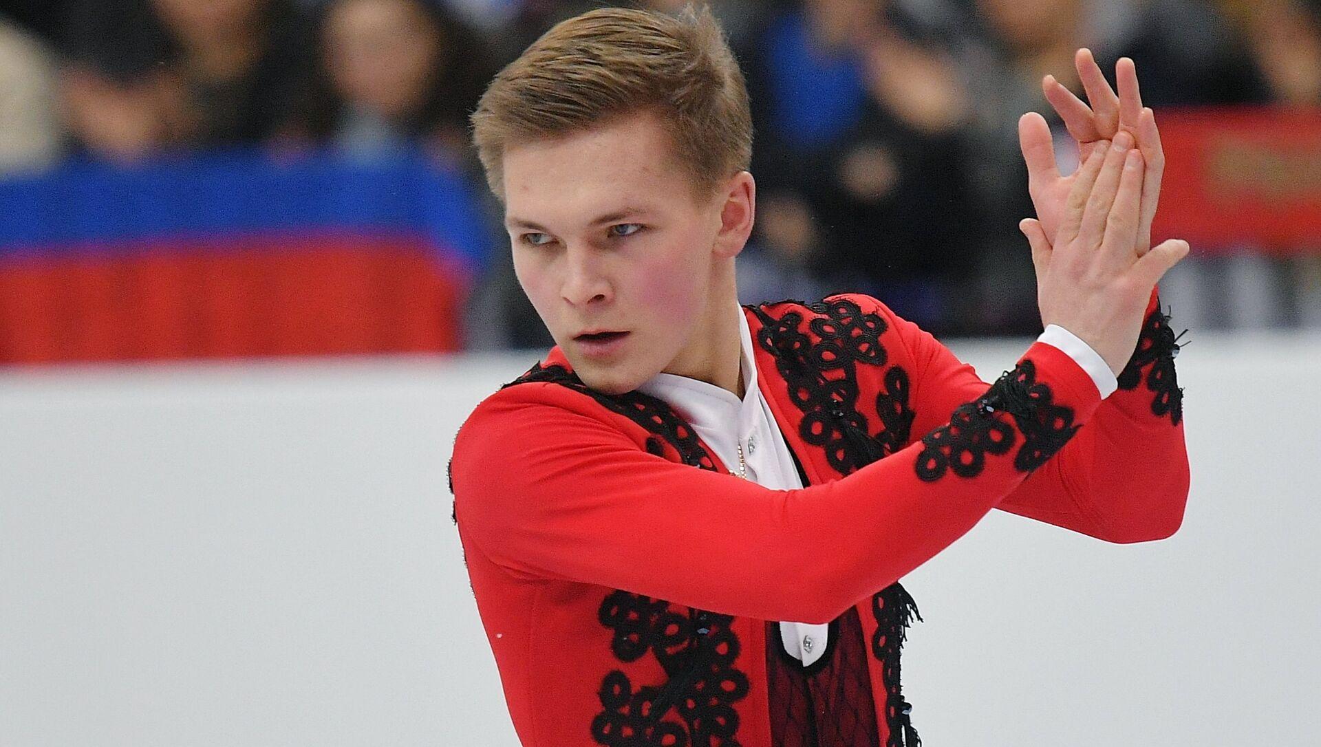 ロシア男子フィギュアのミハイル・コリャダー選手 - Sputnik 日本, 1920, 08.10.2021