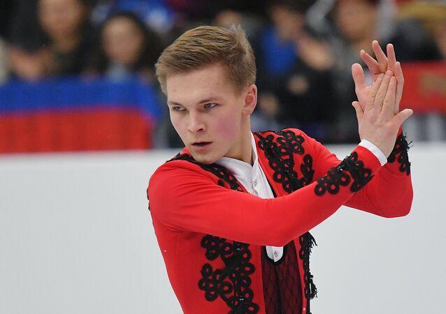 ロシア男子フィギュアのミハイル・コリャダー選手