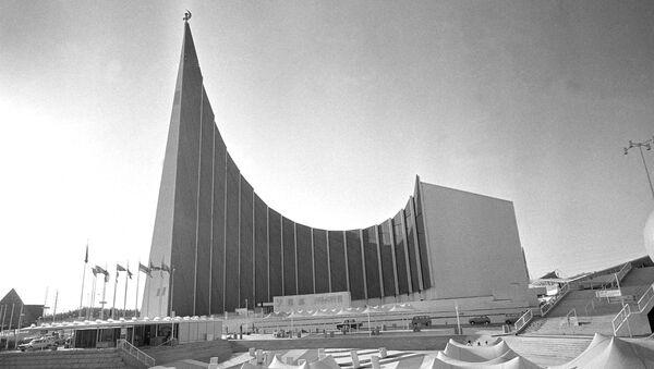 大阪で開催された1970年の万国博覧会のソ連パビリオン - Sputnik 日本
