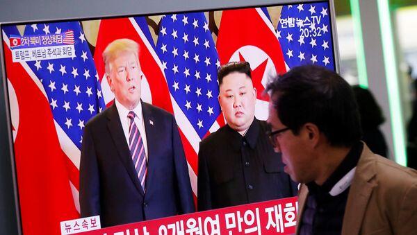 金正恩氏、平壌への米連絡事務所設置は「歓迎すべきこと」 - Sputnik 日本