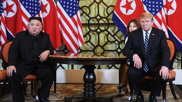 トランプ大統領と金正恩氏 - Sputnik 日本