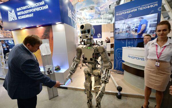 ロボット「フョードル」 - Sputnik 日本