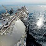 ロシアの液化天然ガス(LNG)(アーカイブ写真)