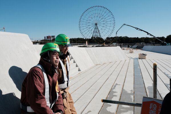 「カヌー・スラロームセンター」。ここでは、カヌーのスラローム競技が行われる。この施設の建設作業は現在、74%が完了している - Sputnik 日本