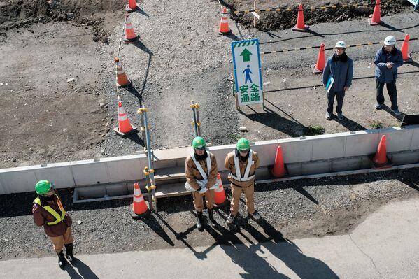 施設の建設現場では現在、およそ100人が働いている。施設の建設作業は、2019年5月までに完了する予定 - Sputnik 日本
