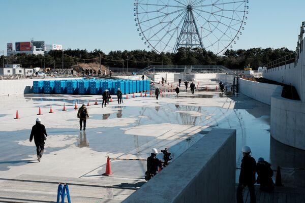 カヌー・スラロームセンターは、選手村や他のスポーツ施設から遠くない場所にある葛西臨海公園に隣接している - Sputnik 日本