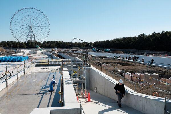 主催者側による計画では、センターは五輪大会後、ウォータースポーツとレジャー・レクリエーションのための日本初の人工スラロームコースとなる - Sputnik 日本
