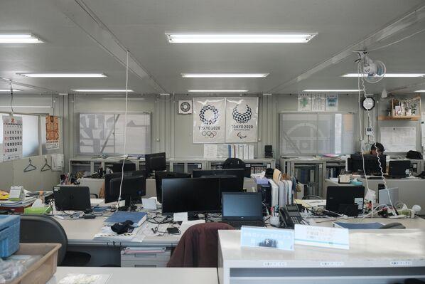 カヌー・スラロームセンターの職員らの事務所 - Sputnik 日本