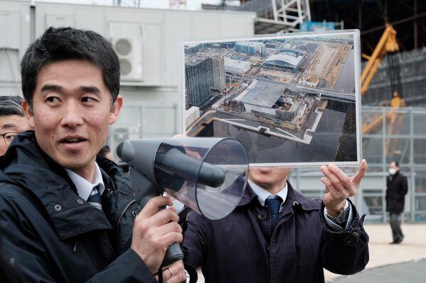 関係者らの話では、建設作業は最終段階にあるという - Sputnik 日本