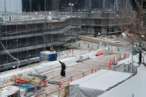 「東京アクアティクスセンター」は、水泳競技用のプール。競泳、飛込、アーティスティックスイミング(旧シンクロナイズドスイミング)が行われる - Sputnik 日本