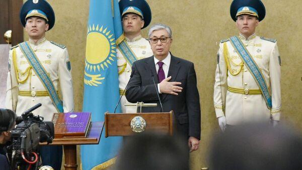 Церемония передачи полномочий президента Казахстана Касым-Жомарту Токаеву - Sputnik 日本