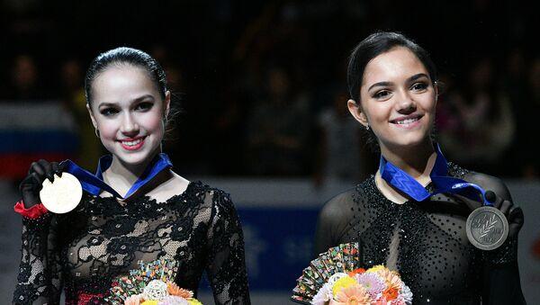 ザギトワとメドベージェワ - Sputnik 日本