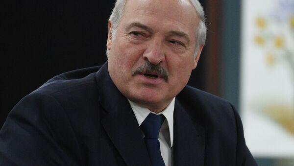 Президент Белоруссии Александр Лукашенко - Sputnik 日本