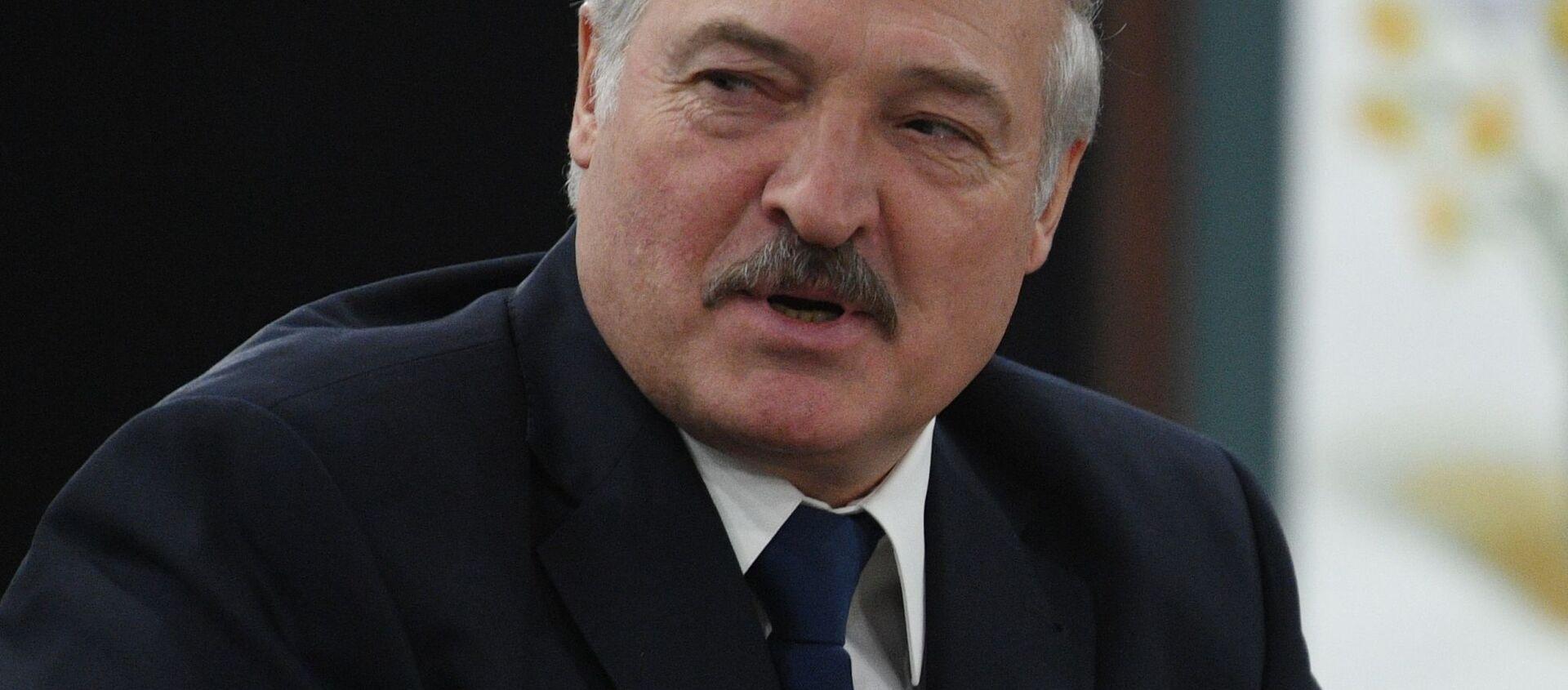 Президент Белоруссии Александр Лукашенко - Sputnik 日本, 1920, 18.04.2021