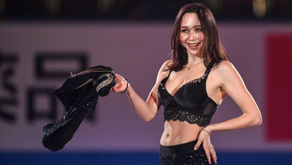 エキシビジョンに参加するエリザベータ・トゥクタミシェワ選手 - Sputnik 日本