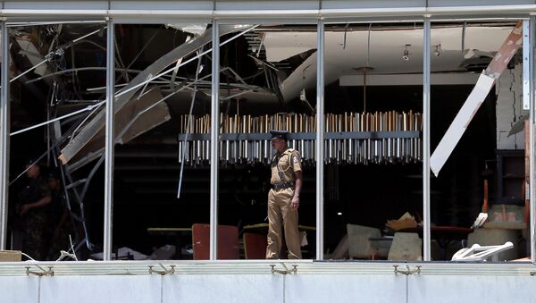 スリランカで新たな爆発 - Sputnik 日本