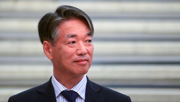 日本の上月豊久・駐ロシア大使 - Sputnik 日本