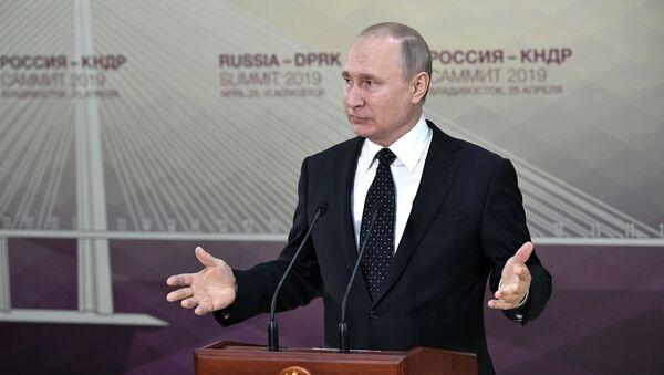 共同の朝鮮半島横断プロジェクトは全当事者の利益となり、信頼を高める=プーチン大統領 - Sputnik 日本