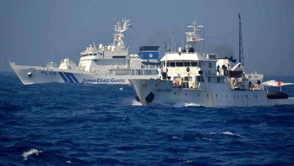 尖閣沖の日本の領海 中国海警局の船舶侵入 - Sputnik 日本