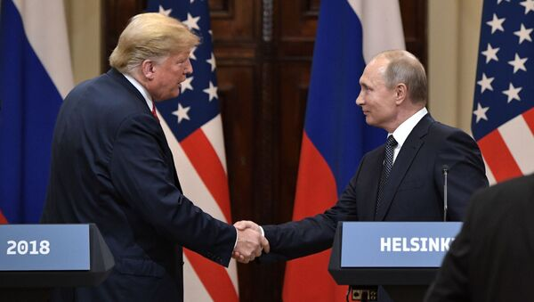 プーチン大統領、トランプ大統領 - Sputnik 日本