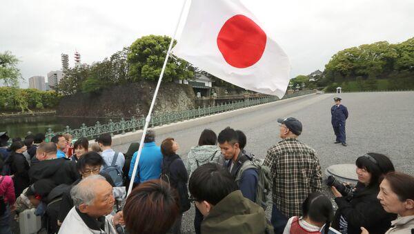 皇居前の人々 - Sputnik 日本
