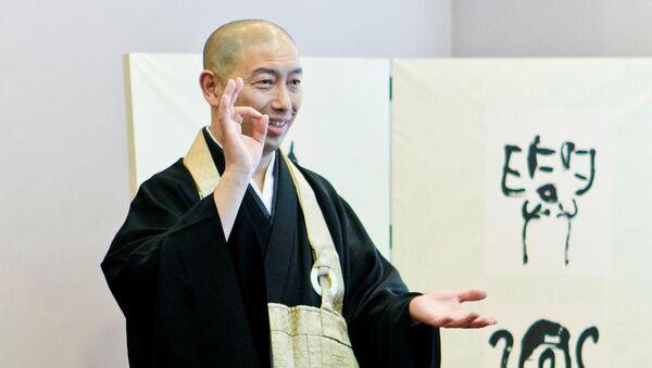 ロシア人、真剣に座禅体験!禅とは何か、ユーモアを交えた講義が好評 - Sputnik 日本