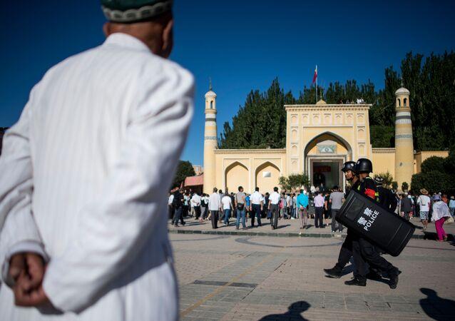 新疆ウイグル自治区(アーカイブ写真)