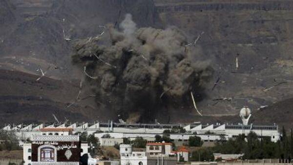アラブ有志連合がイエメンを空爆【アーカイブ】 - Sputnik 日本