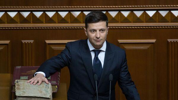 ウクライナ新大統領、就任後すぐに議会を解散 - Sputnik 日本