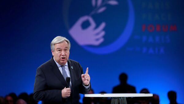 国連のアントニオ・グテーレス事務総長(アーカイブ写真) - Sputnik 日本