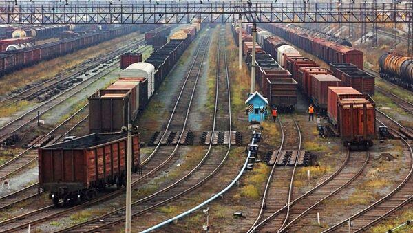 日本で、シベリア鉄道による欧州への貨物輸送テストが始まる - Sputnik 日本