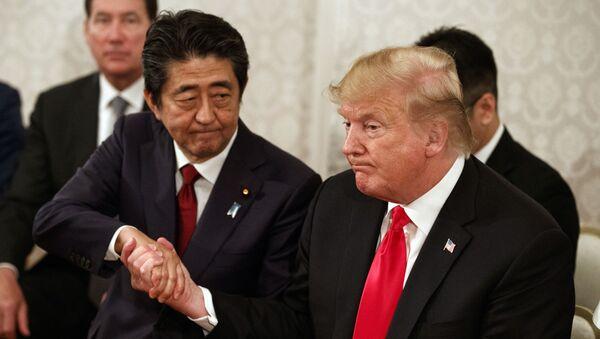 トランプ氏と安倍氏 - Sputnik 日本