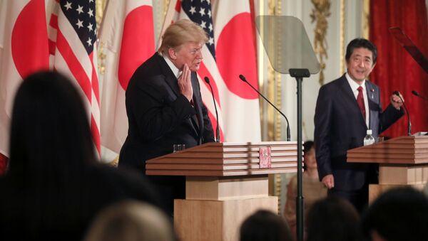 日米安保破棄に関するトランプ氏の突飛な発言:その裏にあるものとは? - Sputnik 日本