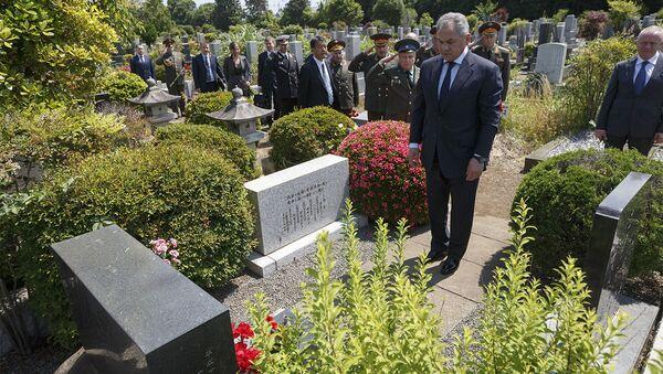 ショイグ国防相、東京でリヒャルト・ゾルゲの墓に献花 - Sputnik 日本