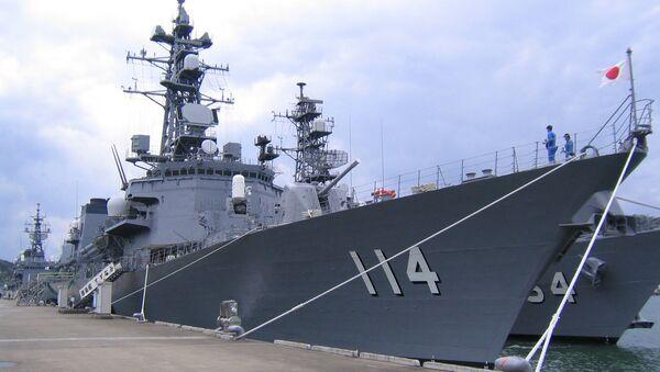 Эскадренный миноносец морских сил самообороны Японии Судзунами - Sputnik 日本