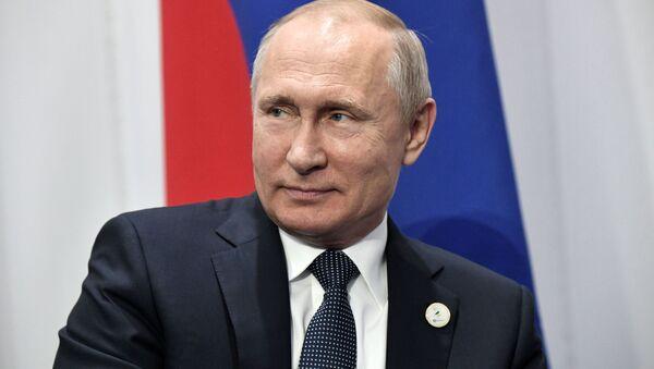 プーチン氏 (アーカイブ写真) - Sputnik 日本