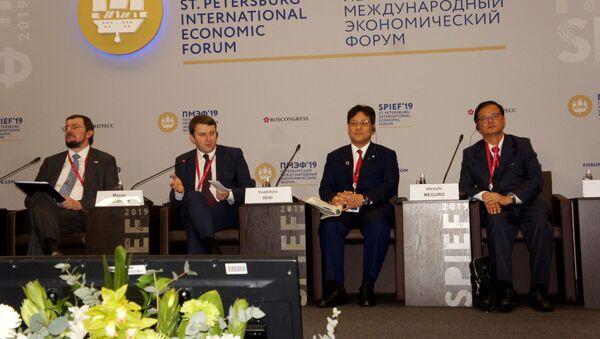 日露ビジネス対話、サンクトペテルブルクで開催:JT副社長や沖縄県知事も参加 - Sputnik 日本