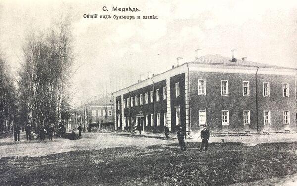 日本人捕虜が収容されていた兵舎、メドベージ村 - Sputnik 日本