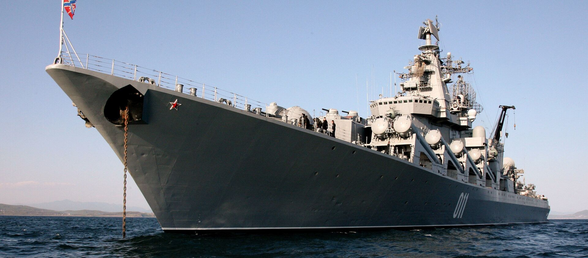 ロシアの巡洋艦「ヴァリャーグ」 - Sputnik 日本, 1920, 10.06.2021