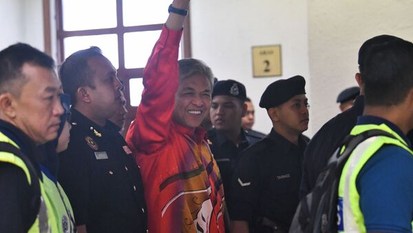 マレーシア前副首相、310万ドルの収賄容疑で起訴 - Sputnik 日本