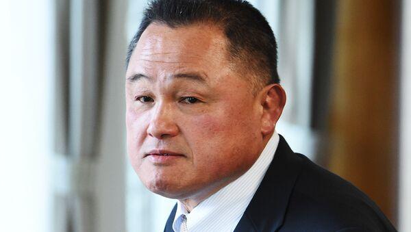日本オリンピック委員会 竹田前会長に代わり、柔道の金メダリスト山下泰裕氏を選出 - Sputnik 日本