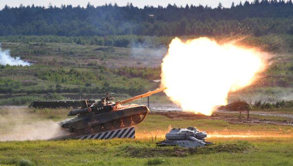 戦車T-90A - Sputnik 日本