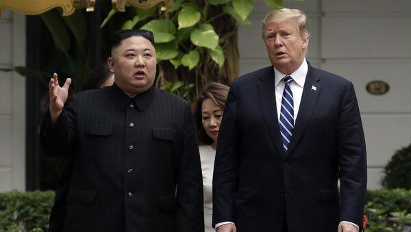 トランプ大統領と金正恩氏【アーカイブ】 - Sputnik 日本